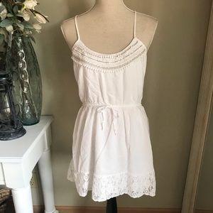 Hollister Spaghetti Strap Boho Dress, Size Medium